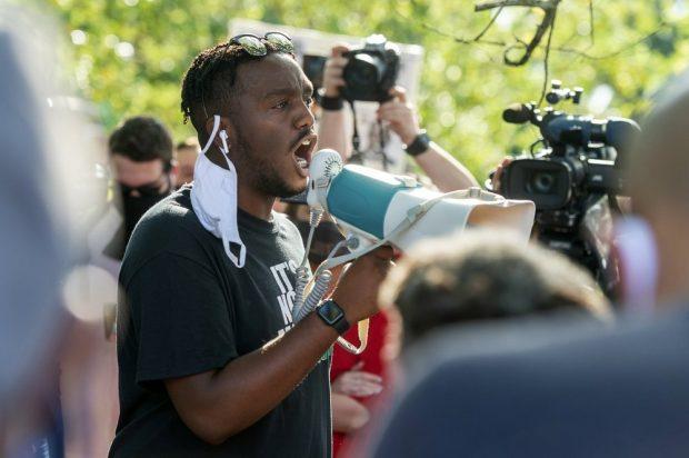 Protest erupts over fatal police shooting of Black man